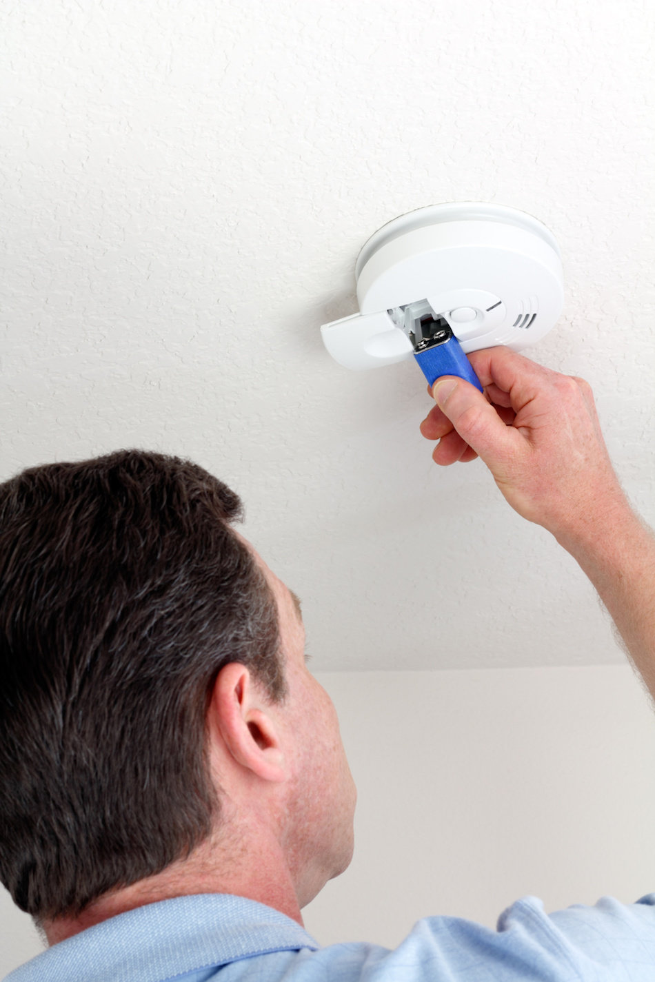 Changing Battery in Carbon Monoxide Detector