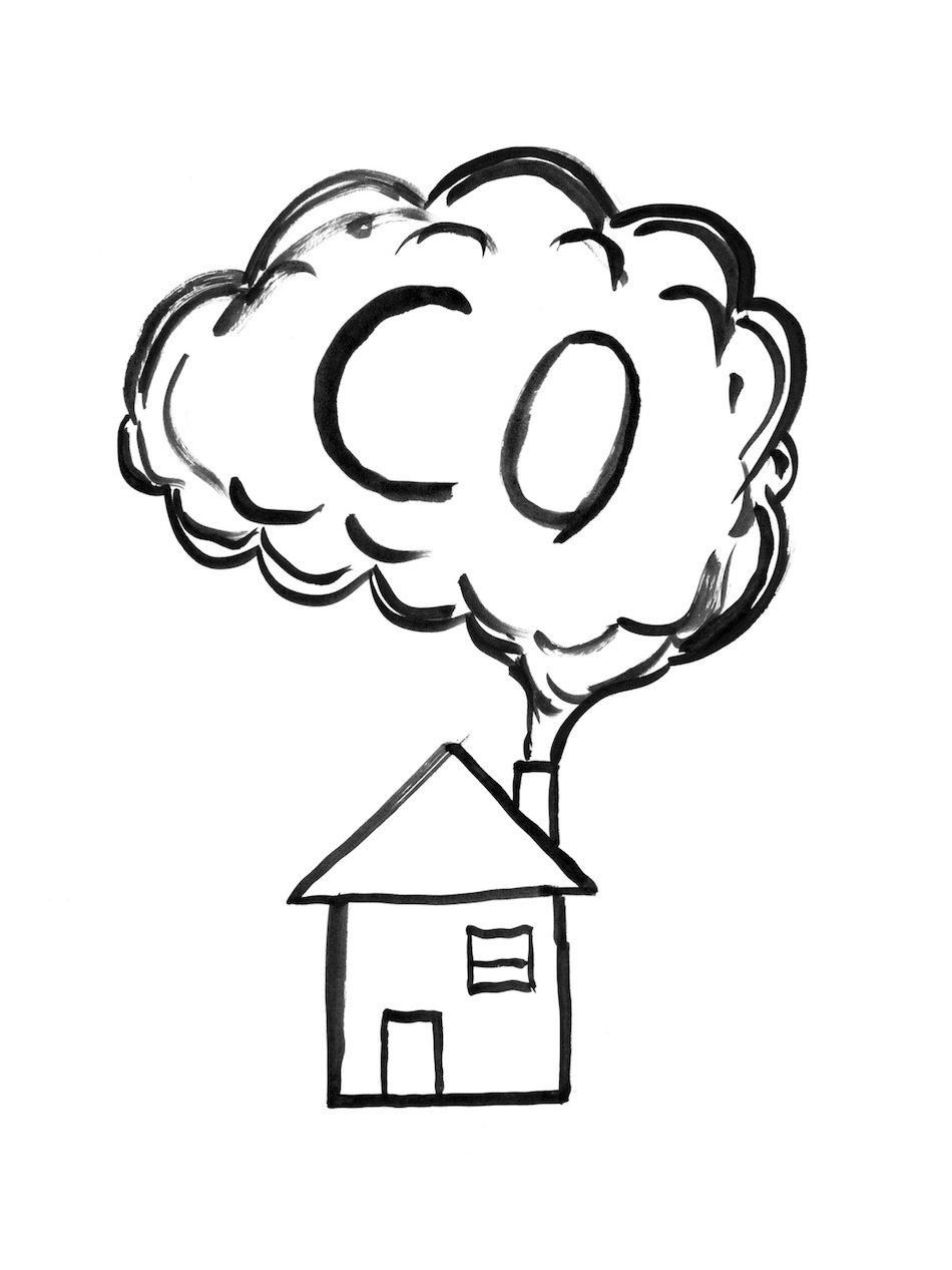 Carbon Monoxide Building up in Home