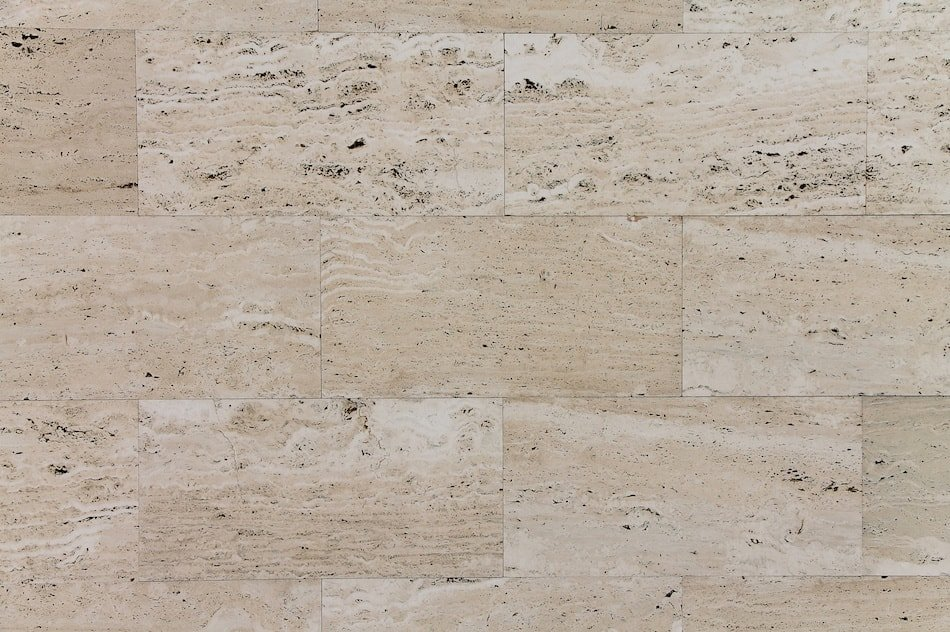 Travertine Stone Kitchen
