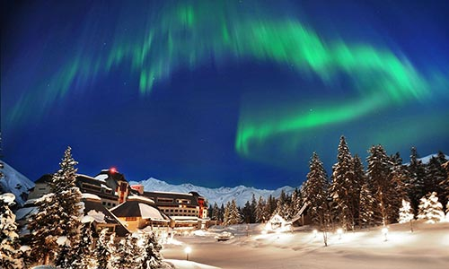 Hotel Alyeska Resort; Anchorage, Alaska