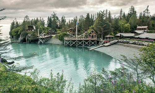 Kachemak Bay Wilderness Lodge; Kachemak, Alaska